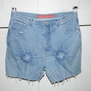 Revolt womens cut off shorts size 22 high rise
